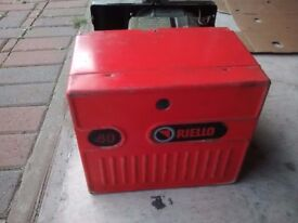 Riello 40 burner for parts or repair