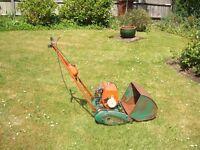 2 x Vintage Lawn Mowers