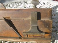 Vintage Wooden 'Moseley & Son of London' Fillester Moulding Plane