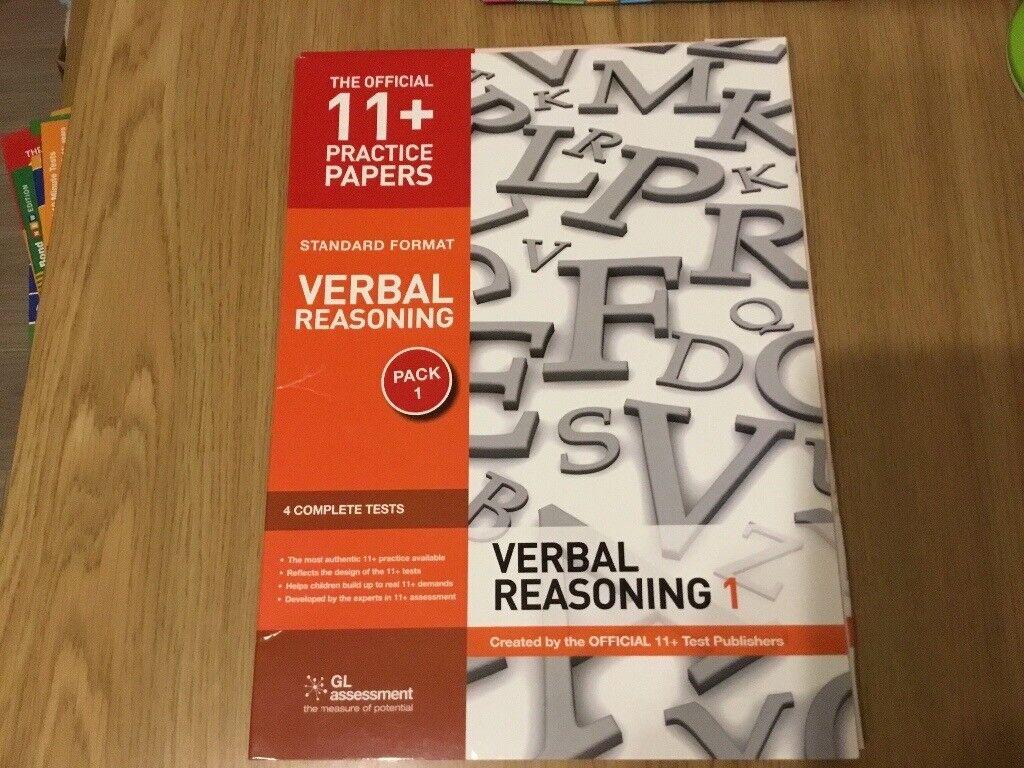 New The Official 11+ Practice Exam Papers Verbal Reasoning 4 Test Papers |  in Lower Earley, Berkshire | Gumtree