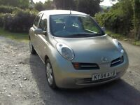 Nissan Micra, SVE, 2004, 8 months MOT, Great condition! Superb Car
