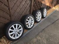 "Volkswagen Golf Mk7/7.5 Dijon 17"" Alloy Rims & Summer Tyres"