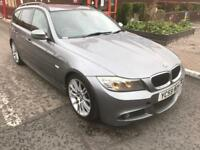 bmw 320d m sport business edition 2010 59 plate sat nav leather seats heated seats