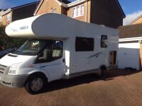 Chausson Flash 03 6 berth Motorhome, 2010, Low Mileage, Large end garage