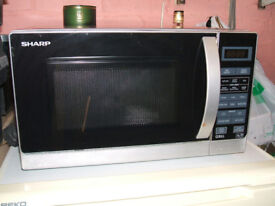 SHARP MICROWAVE AND GRILL