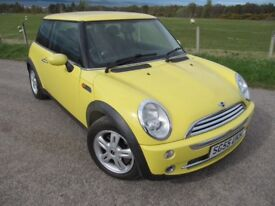 Mini One in Liquid Yellow ~ LONG MOT ~ S/HISTORY ~ G/Condition for age. NOW only £1,995