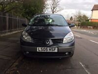 AUTOMATIC RENAULT SCENIC DYNAMIQUW 16V FOR SALE, VERY LOW MILEAGE, LONG MOT, DRIVES VERY GOOD.
