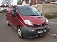 Vauxhall vivaro 1.9 CDTI in red/burgundy 12 months mot