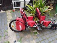WEEHOO IGO TWO 2015/2016 BIKE TRAILER