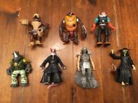 """Ninja turtles """"baddies"""" figures"""