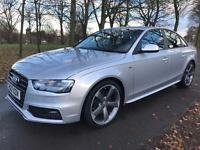 AUDI A4 TDI S-LINE BLACK EDITION TOP SPEC IMMACULATE CONDITION DSG