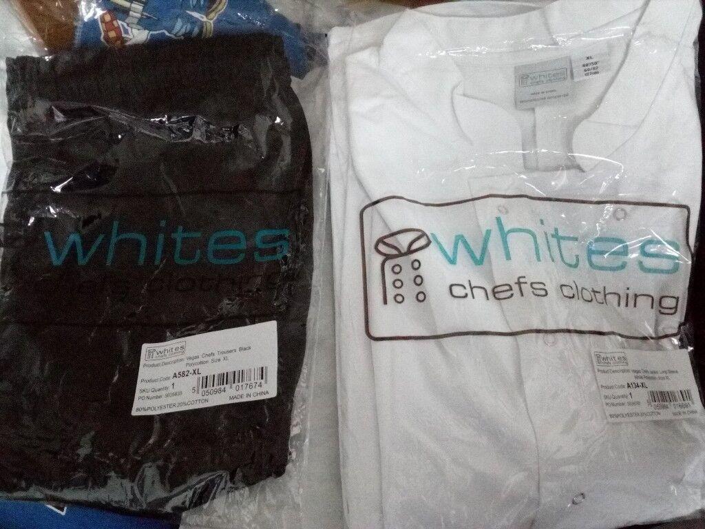 Uniform for chef brand new Whites ® Size XL