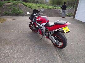 Yamaha R6 2002 sold