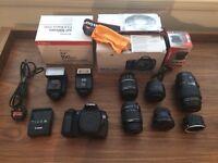Canon 60D Huge Bundle