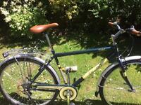New Universal Stirling Bike w/ Rack in Racing Green