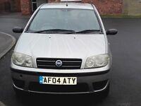 fiat punto 1.2 active 5 door low miles 2004 facelift model