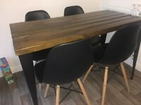*REDUCED PRICE* 4 x Dining Room Chairs/Kitchen Chairs Retro Vintage