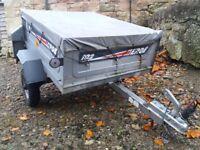 ERDE 102 camping trailer