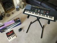 Yamaha PSS-290 Electronic Keyboard with Stand and Beginner Learner Book