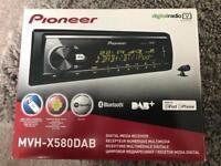 Pioneer MVH-X580DAB Digital Media Receiver Bluetooth IPod IPhone DAB+
