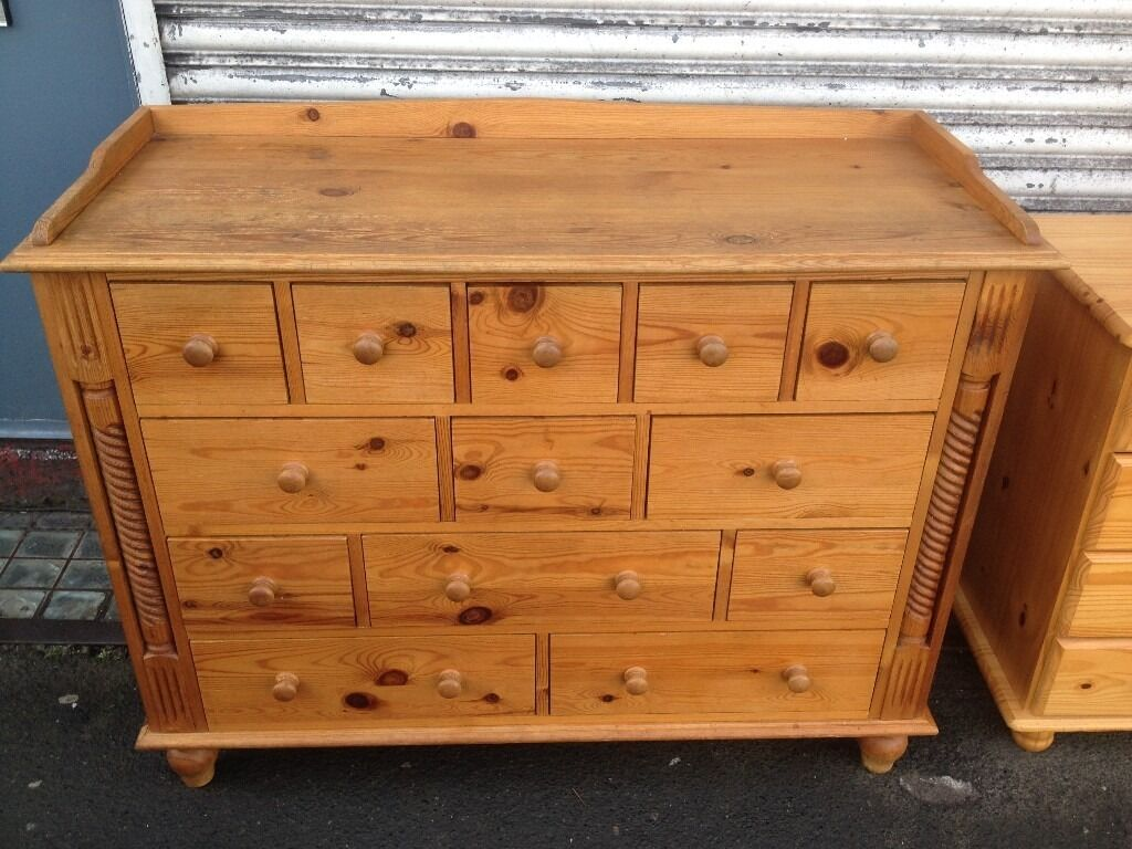 Pine Chest Of Drawers Captain S Chest Dresser