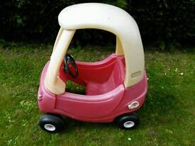 Little Tikes ride on cosy coupe car