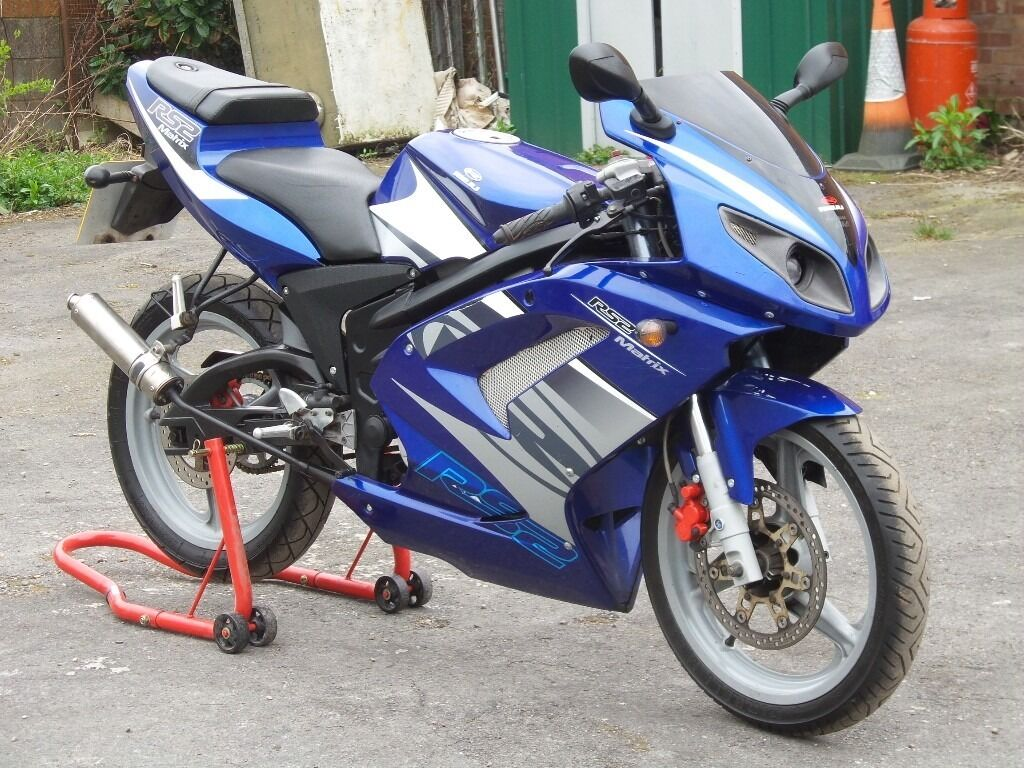 Rieju Rs2 50 Cc Learner Legal Sports Bike Long Mot