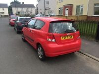 Chevrolet kalos, not clio corsa saxo peugeot, cheap runner