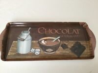 Lovely Melamine CHOCOLAT GOURMAND Tray in Mint Condition - Only Used Once!