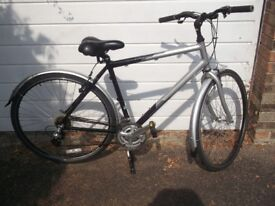 dutch mens hybrid bike high spec superb condition