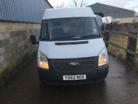 ford transit mwb fridge van.2012.choice of 5 vans.47k miles.one owner