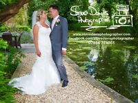Wedding Photographer still has limited dates free for 2017 and 2018. Booking now 2019. From £200