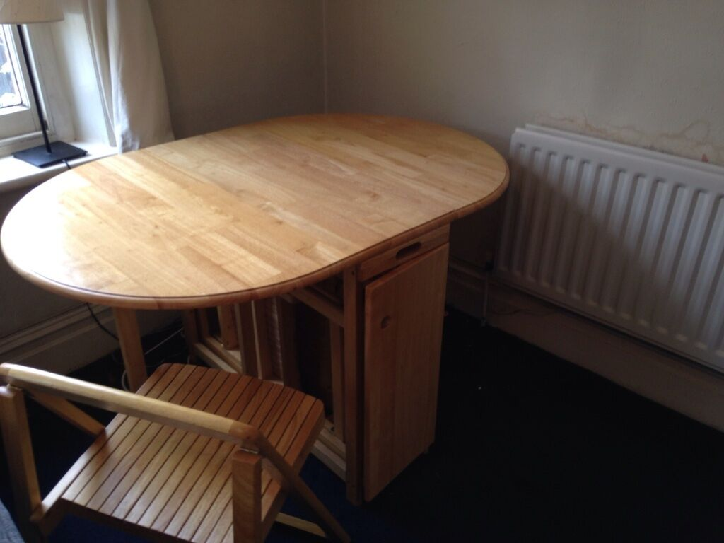 Good condition John Lewis butterfly folding table and  : 86 from www.gumtree.com size 1024 x 768 jpeg 62kB