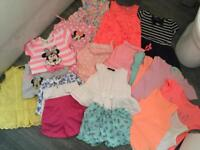 Girls summer bundle joblot clothes holiday dresses shorts playsuit outfits tops 2-3 Years