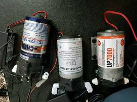 Booster pumps for RO filters marine aquarium