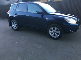 Rav4 XT-R 2008. Just had MOT and full service. Had new break pads and discs in last few months.