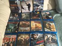 Bluray DVDs