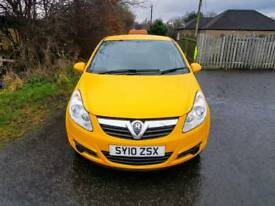NO VAT. Vauxhall Corsa CDTI, One Owner from new, 113,000 Miles, MOT 8/5/18, TEL-07477651115