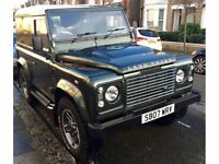 2007 LAND ROVER DEFENDER 90 HARD TOP GREEN