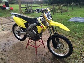 Suzuki Rmz 450 motocross dirtbike crosser motorbike