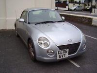 Daihatsu Copen Convertible 0.66L Silver (2006) only 44450 Miles
