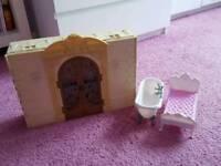 Fold away dolls house