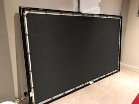 Screen Research- supreme 2-16:9 projector screen.