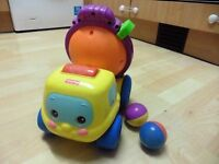Fisher Price Spinning Cement Mixer with two balls