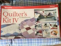 Quilters Kit IV for Husqvarna Sewing Machine Platinum Series