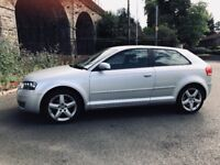 FOR SALE AUDI A3 TDI AUTOMATIC DSG 3 DOOR HATCHBACK ALLOY WHEELS CD PLAYER TURBO OVER BOOSTS !!!