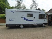 4 Birth Motorhome length 6.600L 2200W with 2.8 Fiat Ducato Engine