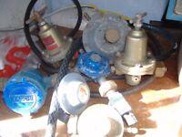 various gas bottle regualators job lot