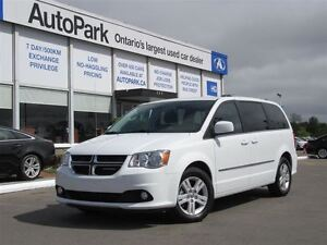 2016 Dodge Grand Caravan Crew| Leather| Cruise control| Alloys