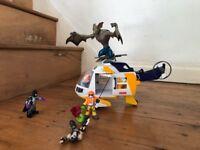Imaginext Helicopter rescue - Manbat, Bane and Batman